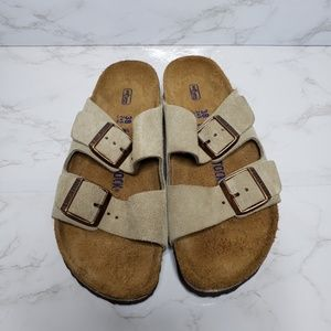 Birkenstock Arizona Taupe Sandals Ladies 7